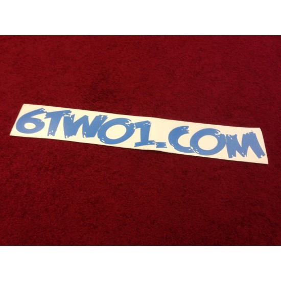6TWO1.COM : (50cm) Decal