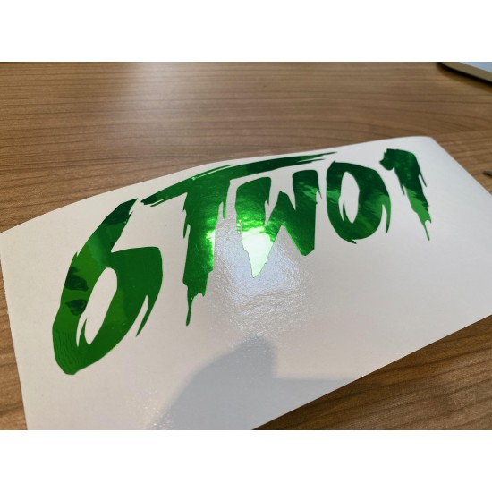 6TWO1 FRIGHT LOGO 30cm