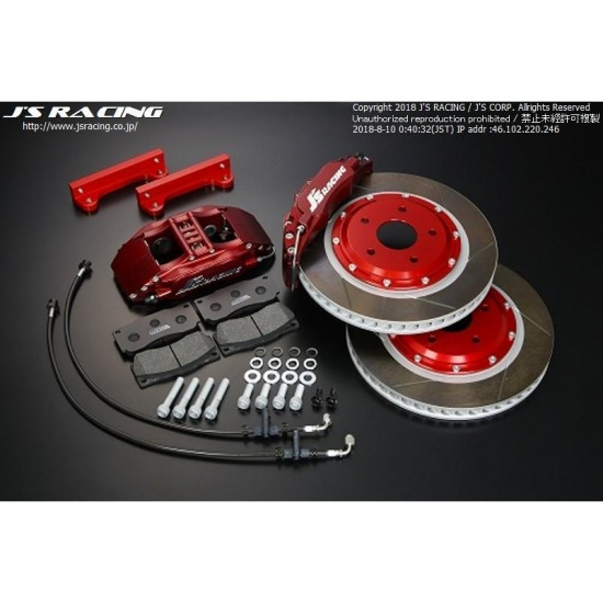 Accord CL7 Euro-R 6-Pot Caliper Kit - J's Racing