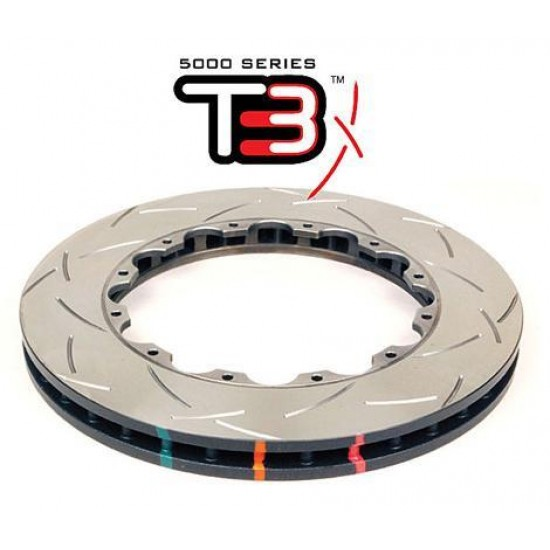 Front 334mm DBA disc brake - 5000 series - Replacement Rotor Only - T3 Slotted (1-4