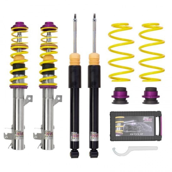 KW Coilover Variant 1 Inox (Eye Type)